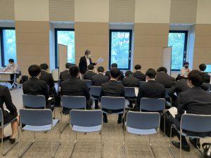 KCS鹿児島情報専門学校様主催の企業説明会に参加しました